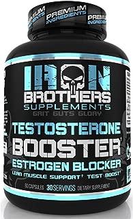 Testosterone Booster for Men with Estrogen Blocker - Anti Estrogen Dietary Supplements - Indole - 3 - Carbibole & Tribulus Terresttris - Pack of 60 caps - Boost Muscle Growth & Fat Loss (1 Bottle)