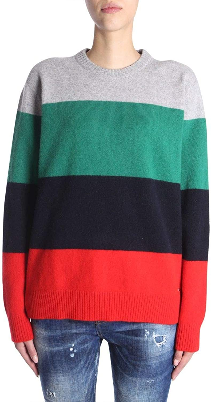 Dsquared2 Women's S75HA0824S16397961 Multicolor Wool Sweater