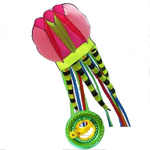 Cometa El Kite De Medusas Manual Es Fácil De Instalar Y Fácil De Instalar (Ocho Opciones) (Color   H)