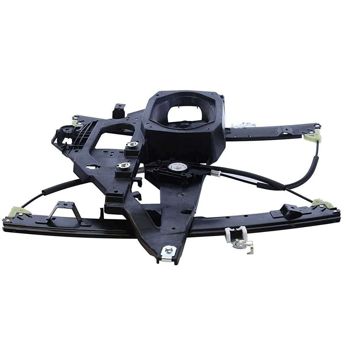 SUNROAD Power Window Lift Regulator Without Motor Assembly Front Left Driver Side Replacement for 2003 2004 2005 2006 Ford Expedition & 2003-2006 Lincoln Navigator