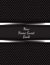New Home Guest Book: Open House Sign In Record Book   Message for visitors   Home Warming Parties   Birthday    Events and Special Occasions   Holiday and many more