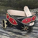 Cinturón western Sweet red
