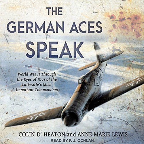 The German Aces Speak audiobook cover art