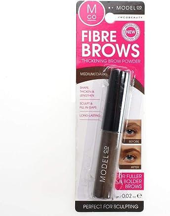 ModelCo Fibre Brows Thickening Brow Powder - Medium/Dark