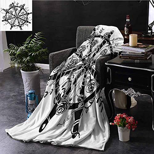 GGACEN bont deken Giant Octopus vangt oude stijl zeil schip Monster avontuur verhaal thema afbeelding zachte en comfortabele slaapbank bed