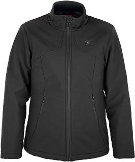 PROSmart Women Heated Jacket Slim Fit Waterproof Heating Jacket with 12Volt Battery Pack