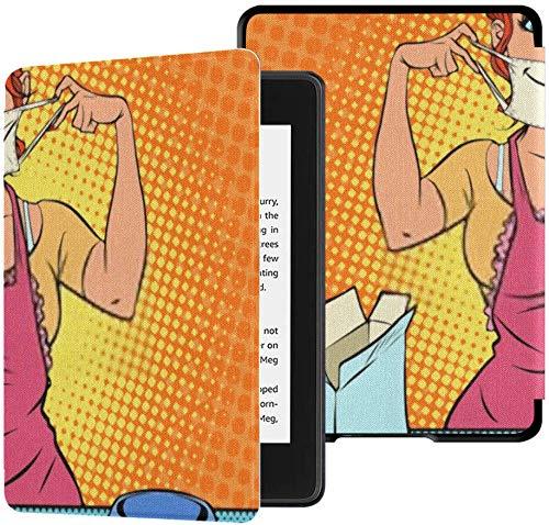 La nuovissima fodera in tessuto Kindle Paperwhite resistente all'acqua (decima generazione, versione 2018), la mascherina medica casalinga prepara la custodia per tablet in coronavirus