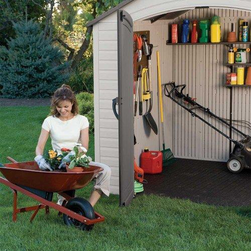 large plastic garden sheds