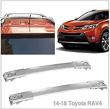Aluminum Cross Bars Roof Top Rack Luggage Cargo Carrier Fit 2014 2015 2016 2017 2018 Toyota RAV4