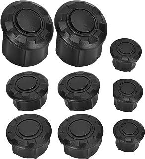 Akozon Filter Air Pod Intake Luftfilter Clamp Gummi Universal Luftfilter Doppelschicht Stahl Filter f/ür Motorrad Pit Dirt ATV 50ccm 40mm 160ccm(Schwarz ) 150ccm 140ccm 125ccm 110ccm