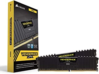 Corsair Vengeance LPX 32GB (2x16GB) DDR4 DRAM 2400MHz (PC4-19200) C14 Memory Kit - Black (CMK32GX4M2A2400C14)