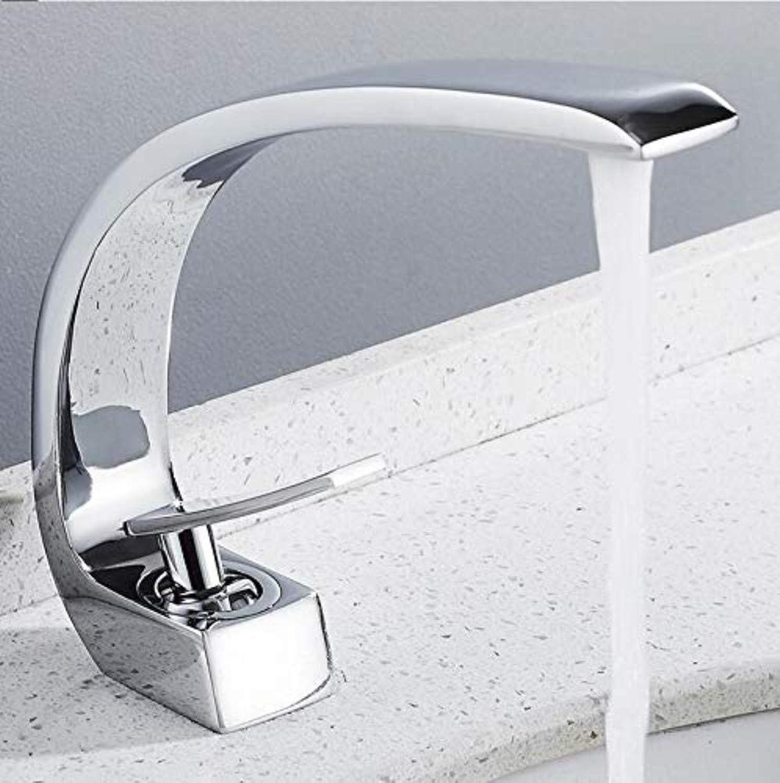 360 ° drehbaren Wasserhahn Retro Wasserhahn Bad Becken Wasserhahn Bad Mischbatterie Messing gekrümmten heien kalten Wasserhahn