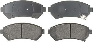 ACDelco 14D699CH Advantage Ceramic Front Disc Brake Pad Set with Wear Sensor