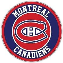 skyhighprint - Montreal Canadiens Logo NHL Decor Vinyl Print Sticker 12'' X 12''