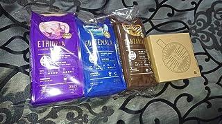 TULLY'S COFFEE 2021 1万福袋 ドリンク券無 珈琲粉豆5袋、オリジナル トライタンドリッパー、スマートコーヒーミル