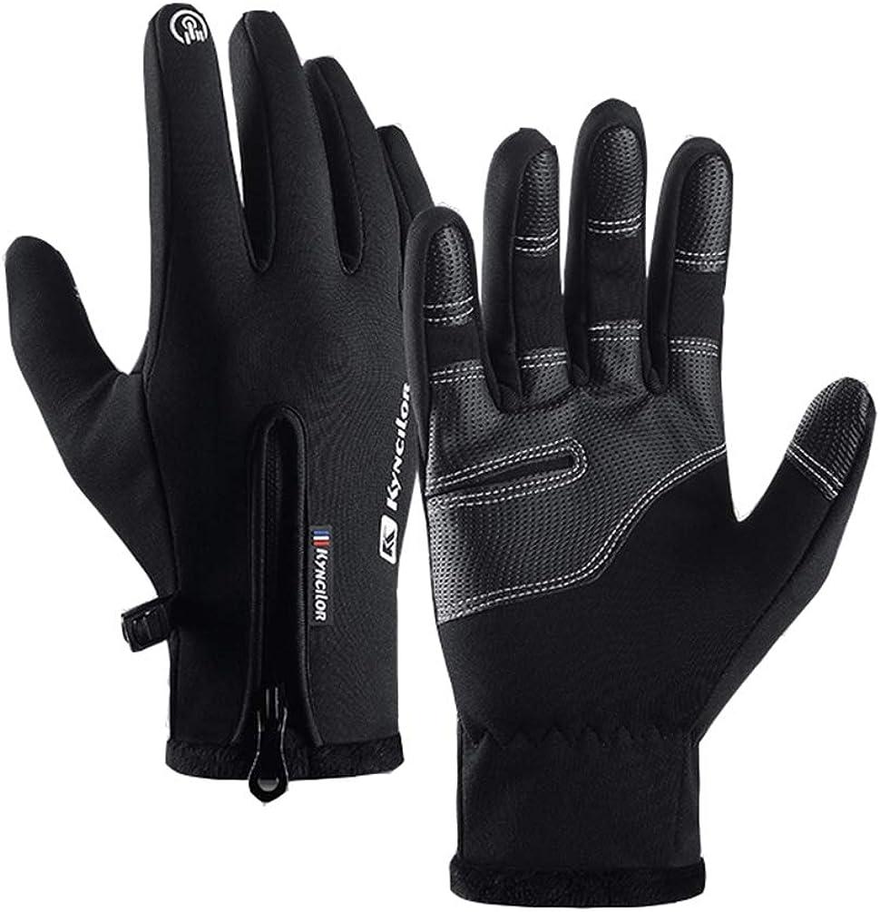 Winter Gloves Windproof Touchscreen Polar Fleece Warm Thermal Soft Gloves