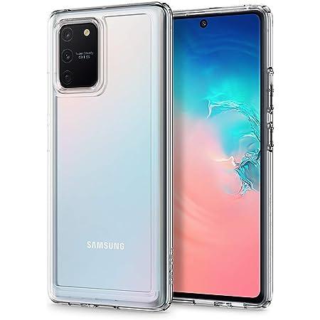 Spigen Ultra Hybrid Kompatibel Mit Samsung Galaxy S10 Lite Hülle Acs00689 Einteilige Transparent Handyhülle Anti Gelb Durchsichtige Pc Rückschale Mit Silikon Bumper Schutzhülle Case Crystal Clear Elektronik