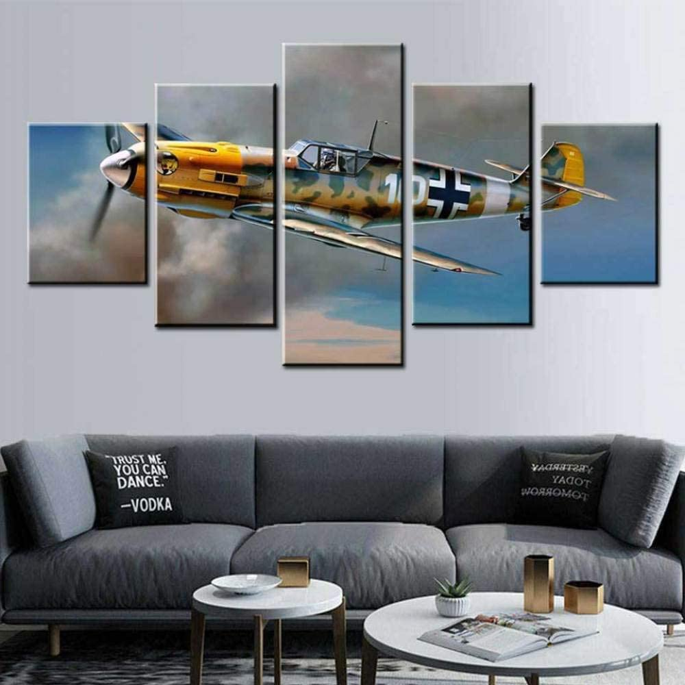 KBJKKL Five Consecutive Paintings Challenge the lowest price of Japan ☆ HD 5 Cheap sale Sky Print Canvas Painting