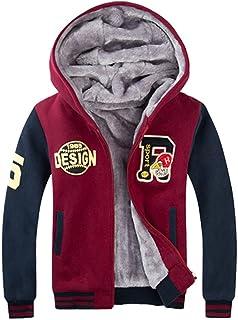 ZUOMAボーイズ 子供服 綿入れ上着 裏起毛 保温コート 厚手ジャケット 冬スタジャン 厚手スポーツウエア