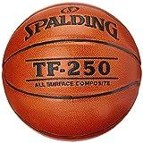 Spalding TF250 IN SZ.7 (74-531Z) balón de Baloncesto INT/out, Hombre, Naranja, 7