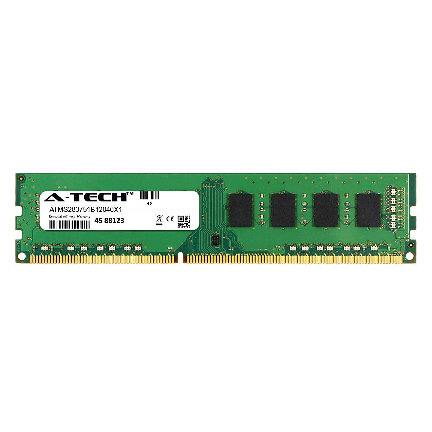 A-Tech 4GB Module for Dell OptiPlex 3010 Mini Tower Desktop & Workstation Motherboard Compatible DDR3/DDR3L PC3-12800 1600Mhz Memory Ram (ATMS283751B12046X1)