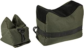 Nachvorn Outdoor Shooting Rest Bag - Target Sports Bench Unfilled Front & Rear Support Bags for Shooting Hunting Photography