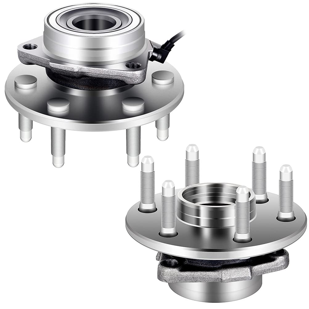 GDSMOTU 2PCS Front Wheel Hub and AB online shopping with Assembly Lugs Bearing Ranking TOP9 6