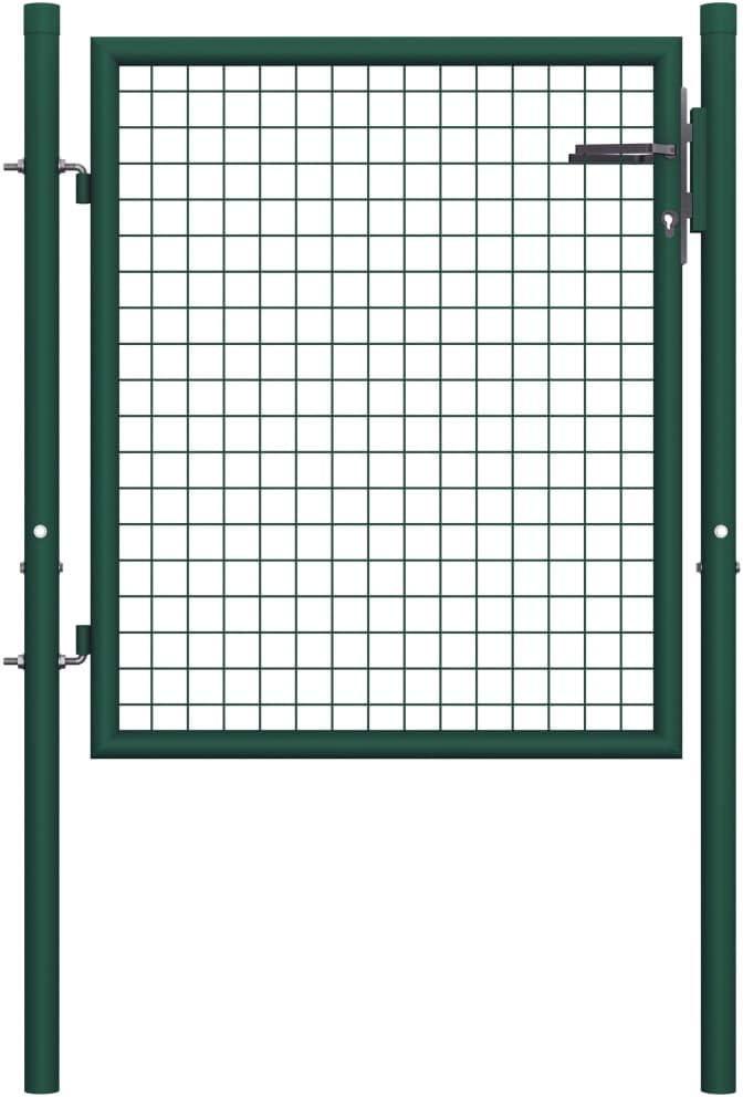 INLIFE Outdoor Door Garden Fence Gate 2021 autumn and winter new 35% OFF Co Duty Green Heavy Powder