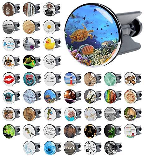 Waschbeckenstöpsel Ocean, viele schöne Waschbeckenstöpsel zur Auswahl, hochwertige Qualität ✶✶✶✶✶