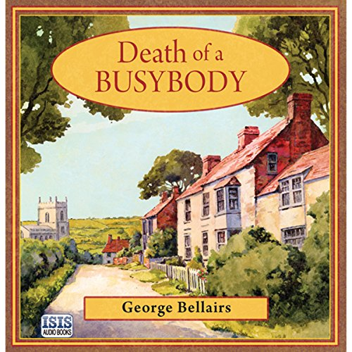 Death of a Busybody audiobook cover art