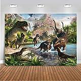 Mehofoto Dinosaurio Tema telón de Fondo 7x5ft telones de Fondo de...