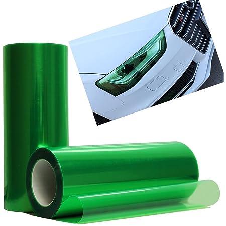 Glossy Emerald Green Tint Headlight Fog Lights Taillight Smoke Vinyl Film Self Adhesive JDMBESTBOY Free Tool Kit 12x24 1FT x 2FT