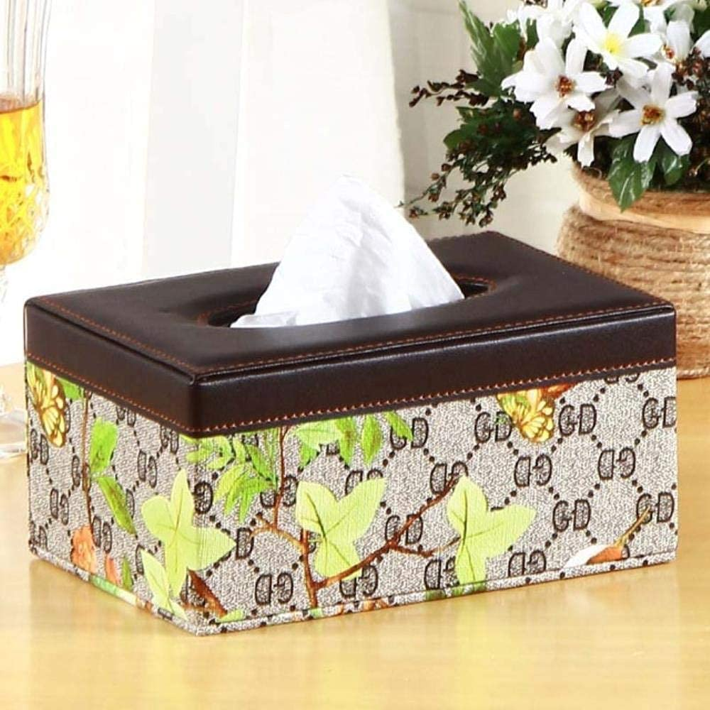 2021 autumn and winter new XHJTD Home Max 40% OFF Bathroom Car Tissue Leather Imit Box Cover