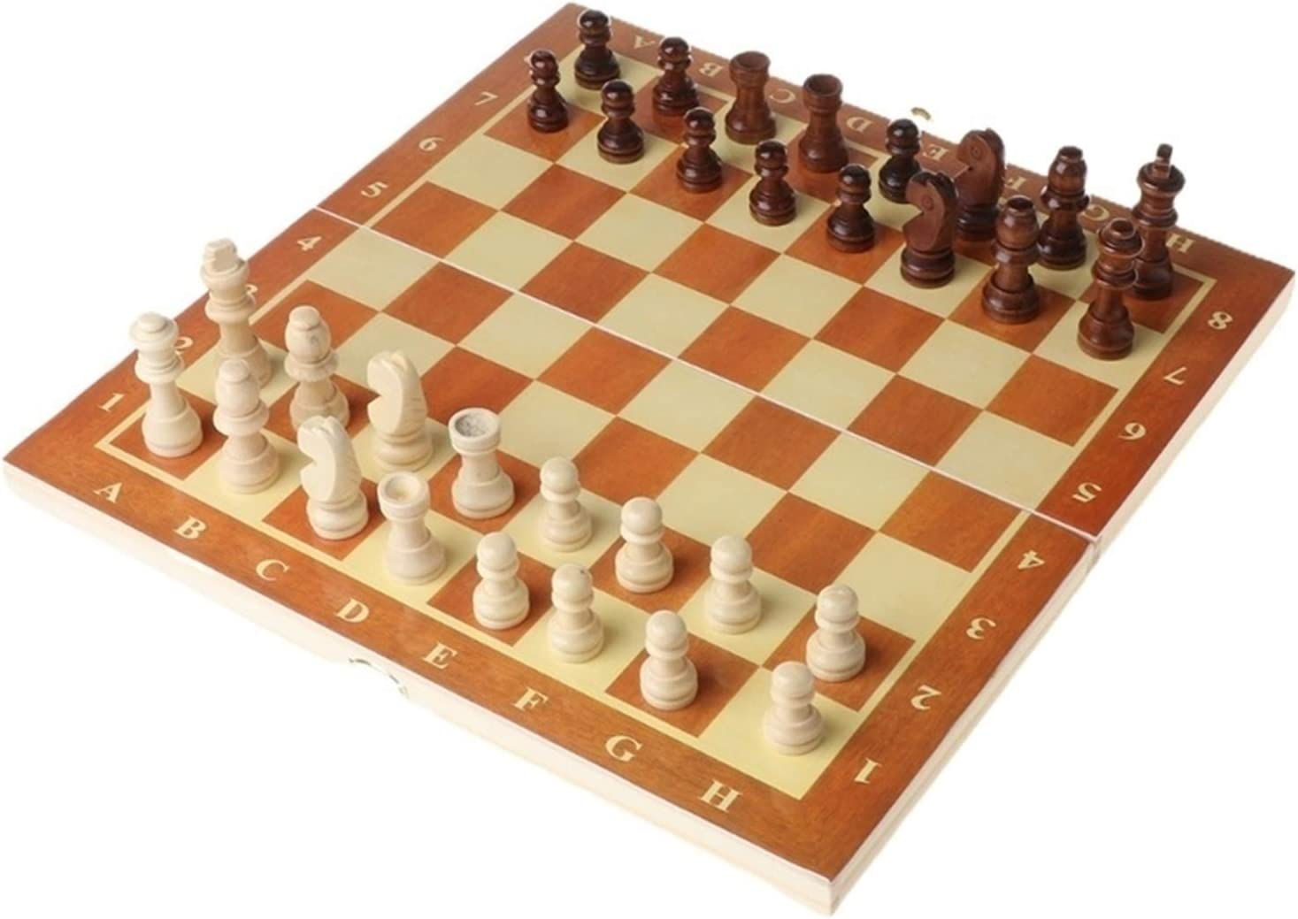 Zenli 3 in 1 Wooden International C Board Super Special SALE held Games Chess Set Travel Special sale item