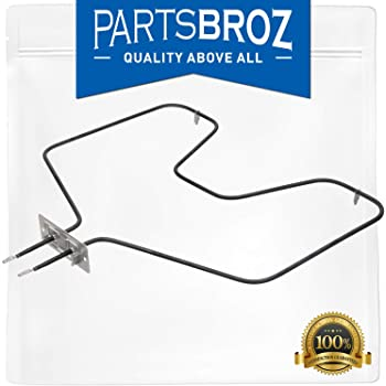 WB44X10009 Bake Element by PartsBroz - Compatible with GE Ranges & Ovens - Replaces Part Numbers AP2031061, 260864, AH249344, EA249344, PS249344