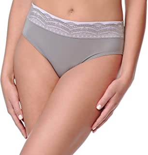 40fb1e5393d Warner s Women s Plus Size No Pinching No Problems Hipster Panty