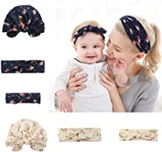Headbands for baby and mom, Baby photo props, Mom and me Headbands & Hat Set, Hats and Hair wraps for newborn, infant and toddler, Bow-knot head wraps, Boho headband, Mom and baby matching outfits