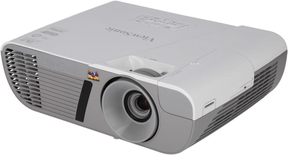 ViewSonic Classic 3200 Lumens Full HD Fashion 1080p Shorter Throw Theater Home P