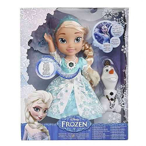 Classic Disney Frozen Snow Glow Elsa - Singing Doll