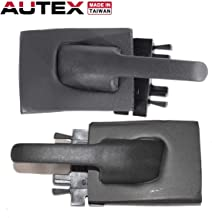 AUTEX 2pcs Interior Door Handles Front/Rear Left Right Compatible with Ford Explorer,Mercury Mountaineer 1995-2001 Replacement for Ford Explorer Sport Trac 01-05 77155 77156