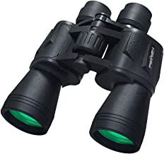 Binoculars for Adults, 10x50 HD Binocular for Outdoor Travel Bird Watching Hunting Sports Bak4 Porro Prism Wide Angle FMC Lenses with Carrying Case
