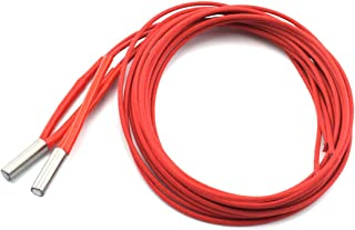 Hot End Extruder 5 Pack SDTC Tech NTC 3950 100K Thermistor with 1 Meter Wiring and Female Pin Head Temperature Sensor for RepRap 3D Printer Heatbed