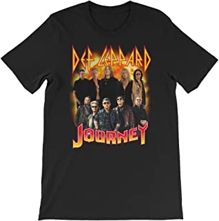 Def Leppard and Journey 2018 Shirt-Gift Tanks for Rock Band Lover