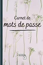 Carnet de mots de passe: Répertoire mot de passe index Alphabétique A5 - idée cadeau pour anniversaire noël (French Edition)