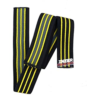 Inzer Knee Wraps - Gripper (2.5M Long) Powerlifting Weight Lifting Wraps (Pair)