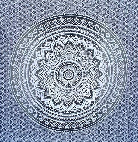 Bless International Indian Traditional Mandala Hippie Wall Hanging, Cotton Tapestry...