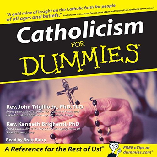 Catholicism for Dummies audiobook cover art