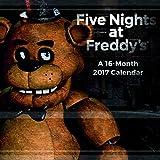Trends International 2017 Wall Calendar, September 2016 - December 2017, 11.5' x 11.5', Five Nights at Freddy's
