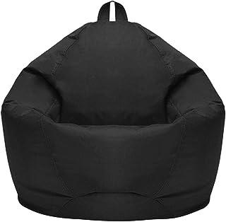 Classic Bean Bag Sofa Chairs, Waterproof Bean Bag Chair Large Storage Bean Bag Oxford Chair Cover, Teens and Adults Lounge...
