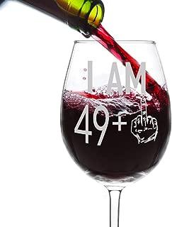Best 50th birthday wine glasses Reviews